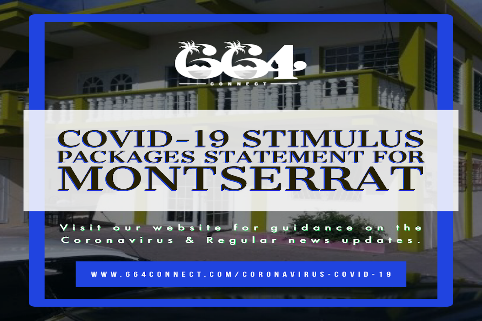 COVID-19 Stimulus Packages Statement for Montserrat, Montserrat Financial Aid, Montserrat Medical Supplies