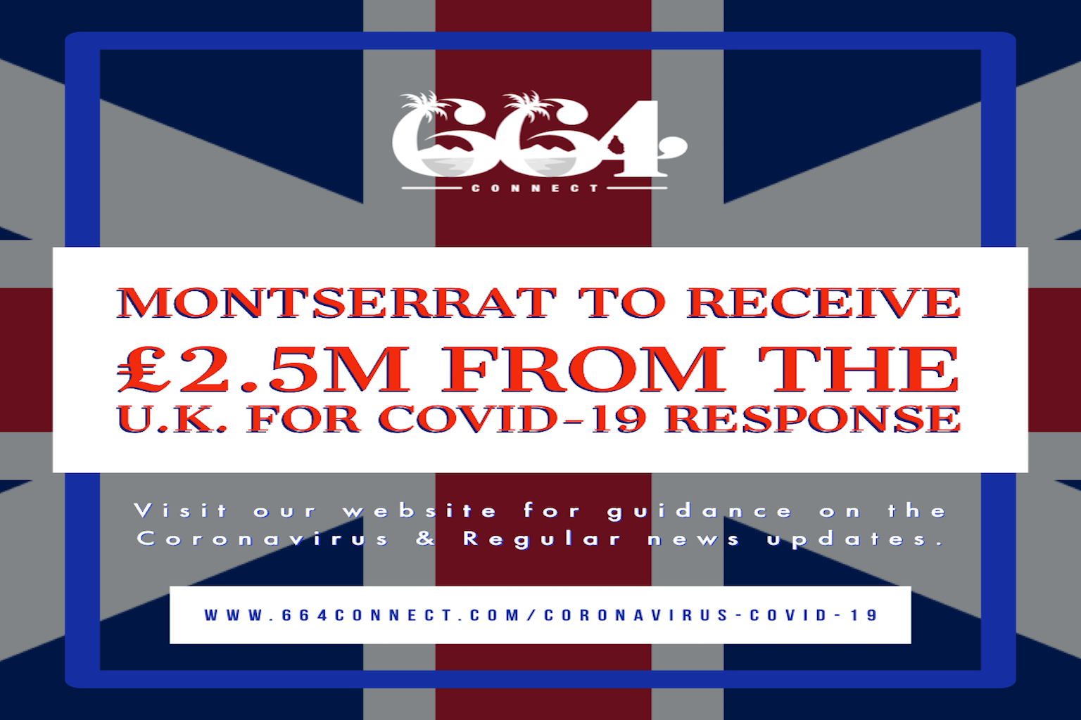 Montserrat to receive £2.5M from the UK for COVID-19 Response