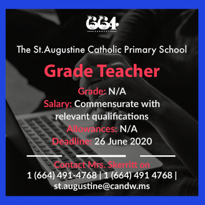 Grade Teacher - St Augustine Catholic Primary School