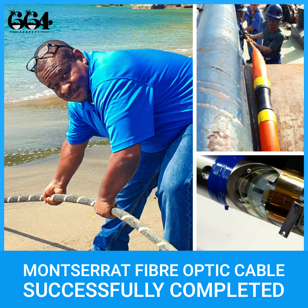 Montserrat Fibre Optic Cable Successfully Completed